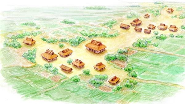 奈良・平安時代(掘立柱建物、古代服部郷)